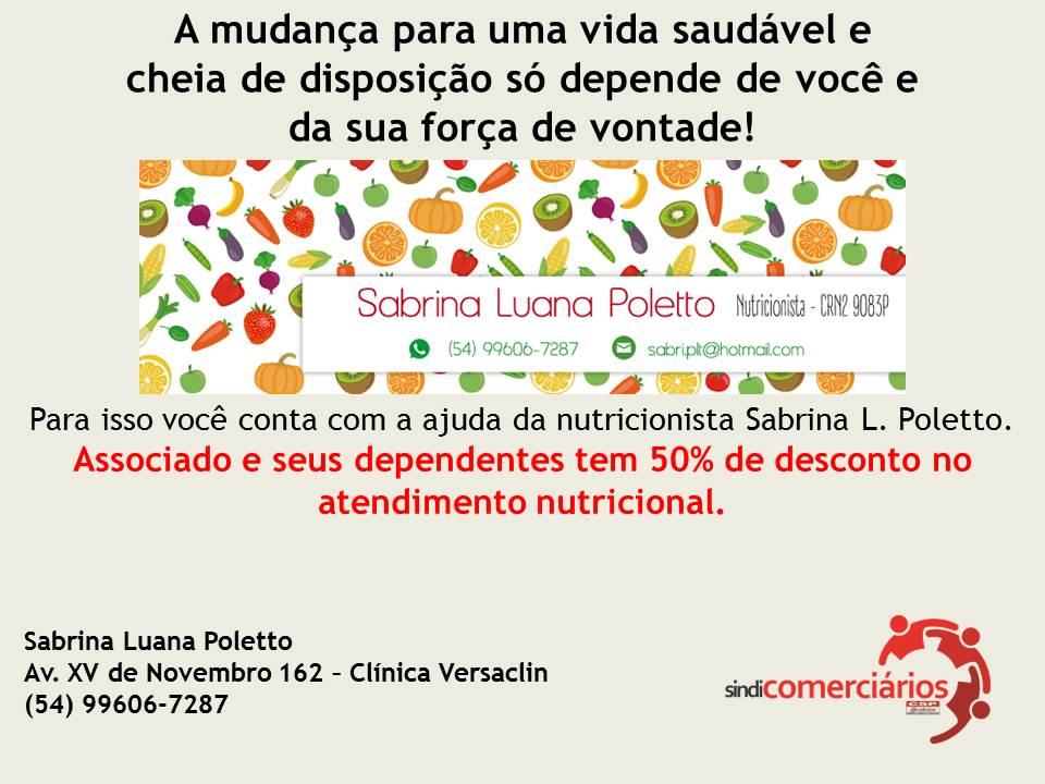 Nova parceria - Nutricionista