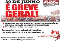 GREVE GERAL - 30/06/2017