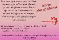 Março, Mês da Mulher!